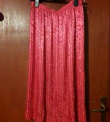 Svečana svjetlucava ružičasta suknja