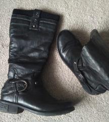 tople crne čizme