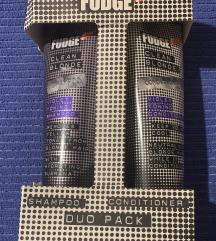 Fudge Clean Blonde šampon + regenerator