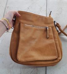 Smeđa kožna torba