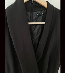 Sisley asimetrična sako haljina