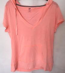 Nova lagana neon narančasta majica H&M M