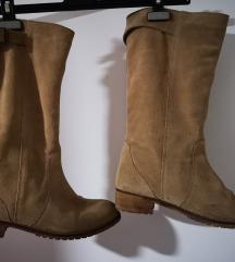 Čizme brušena koža 41