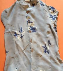 Retro duga suknja i košulja komplet