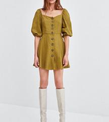 Nova Zara lanena boho haljna