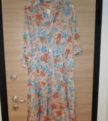NOVA Benetton cvjetna haljina s postavom XS