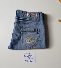 Ženske plave traperice BLUE FASHION broj S - M