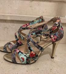 Sandale visoka potpetica ljetne