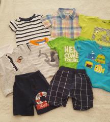 Majice, košuljica i hlačice LOT pt u cijeni