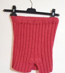 Dječja roza mini suknja s mašnom