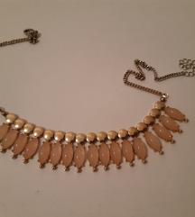 Rozo zlatna ogrlica