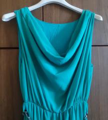 Tirkizna haljina grčkog stila