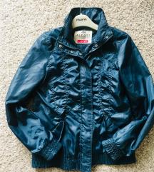 Plava jakna šuškavac vel M-L