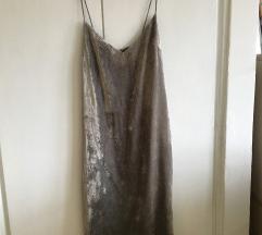 H&M Velvet haljina