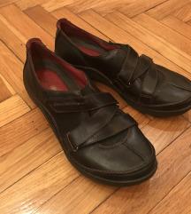 Kožne ženske cipele Clarks