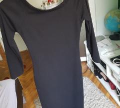 Zara crna uska haljina