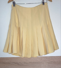 Zara suknja žuta XL
