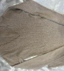 Univerzalna 34-42 zimska midi haljina od kašmira
