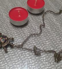 lančić s kornjačom