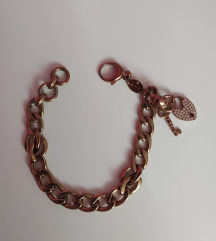 Fossil rose gold narukvica