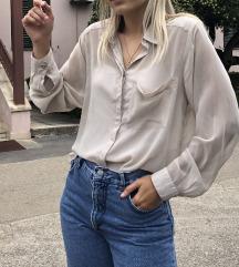 H&M nude košulja