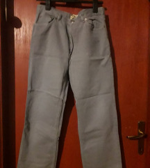 Sivo plave muške hlače