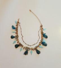 Zara choker ogrlica