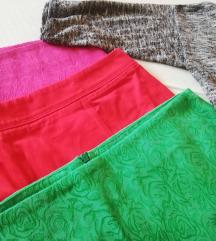 PRILIKA 3 suknje c&a + kardigan GRATIS