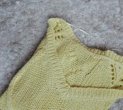 ZARA žuti džemper