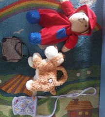 Lot torbica i ruksak za malu damu