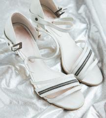 Diesel ženske bijele sandale