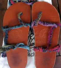 LEGaraches sandale (ručni rad)