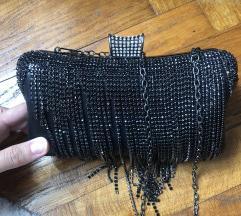 Crna svečana torbica 👛🖤