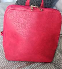 Novi crveni ruksak