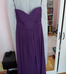 Nova svečana ljubičasta haljina