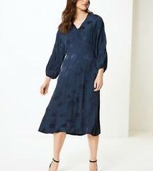Jacquard Fit & Flare Midi haljina