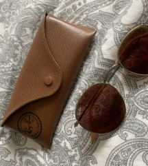 Ray Ban Round red/bronze copper