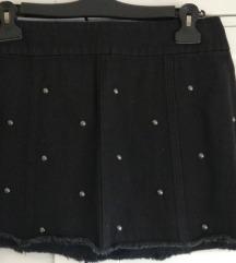 Nova Q/S traper suknja sa zakovicama L-XL