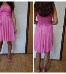 H&m pink haljina 38