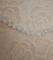 Prozirna ogrlica (kopča srebro)