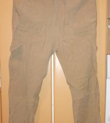 Zara lagane paperbag hlače