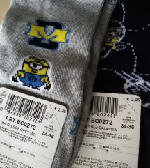 Lot 4 para čarapa 34-36