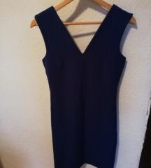 Plava Mango haljina S
