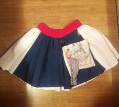 dizajnerska suknja Šinjorine
