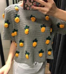 ZARA pletena majica + pt
