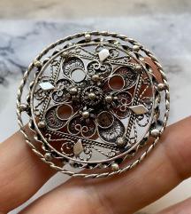 Velik boho prsten unikat