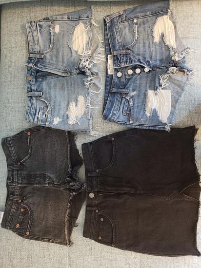 Kratke hlače Levis, A&F, Pull and bear