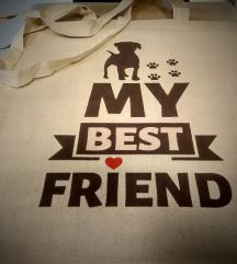 Eko Torba / Tote Bag My Best Friend