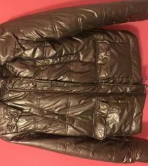 Zlatna zimska jakna