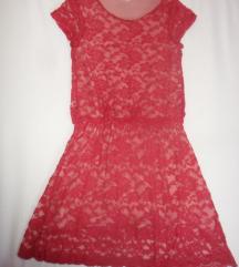 Svečana haljinica sa čipkom 146-152